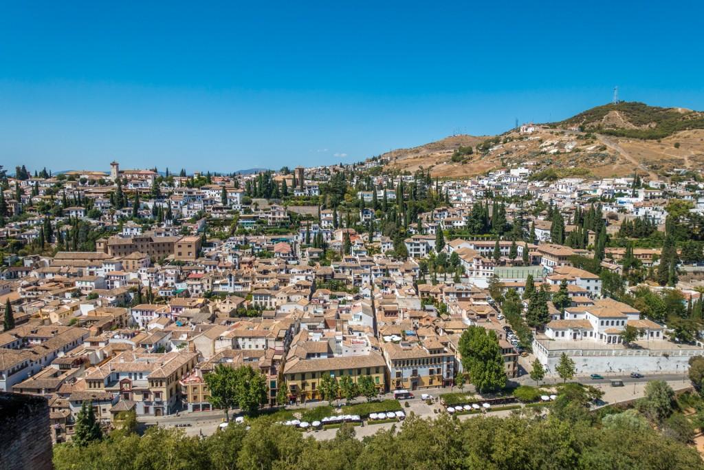 Uitzicht Alhambra
