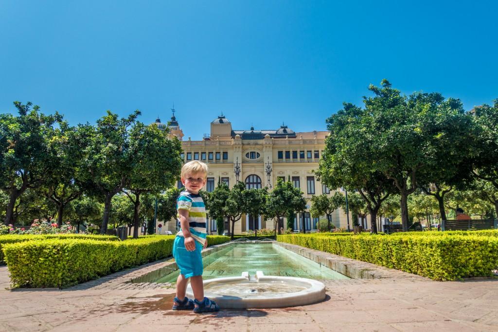 Sam in Málaga