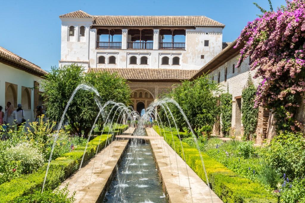 Fontein Alhambra