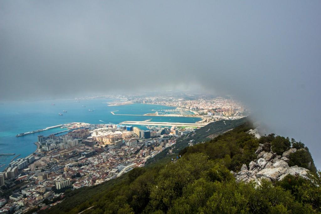 Uitzicht rots Gibraltar